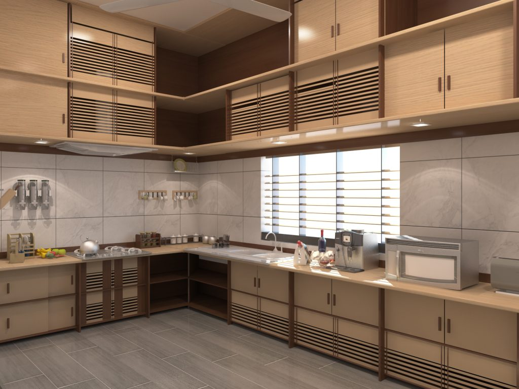 Kitchen Cabinet Design in Bangladesh Evangel Architect